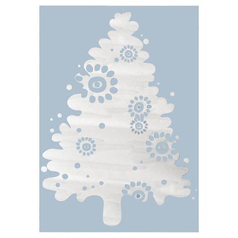 Complementi e decori - Albero di Natale cm. 50 x 38 carta da zucchero by Acte Deco