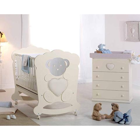 Azzurra Design Lettino Charme + Bagnetto Charme + Piumone 3 pz. Gemini