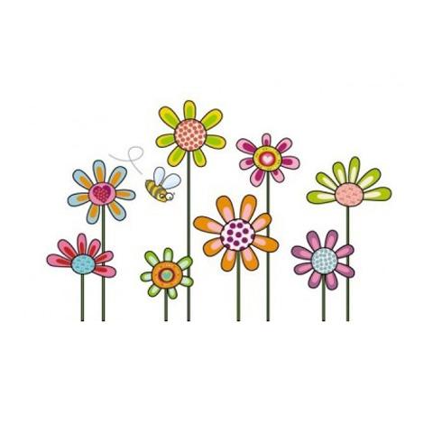 Complementi e decori - Apina tra i fiori cm. 55 x 95 [GOLO52] by Acte Deco
