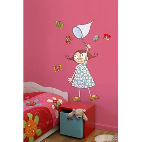 Complementi e decori - La bambina delle farfalle cm. 112 x 55 [GOLO43] by Acte Deco