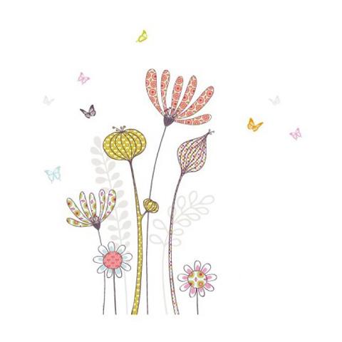 Complementi e decori - Fiori a primavera cm. 112 x 69 [GOLO105] by Acte Deco