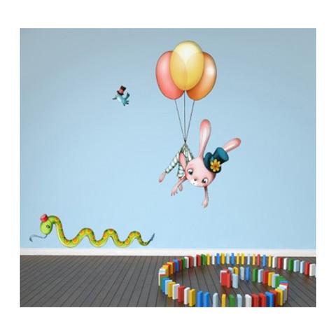 Complementi e decori - Il Circo volante cm. 60 x 110 [PGB7] by Acte Deco