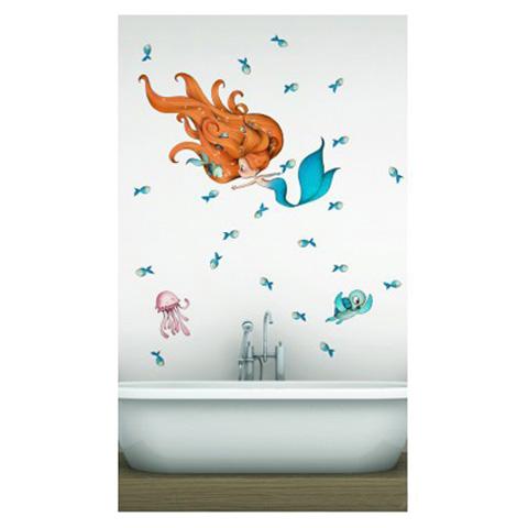 Complementi e decori - La sirenetta e i suoi amici cm. 60 x 110 [PGB19] by Acte Deco