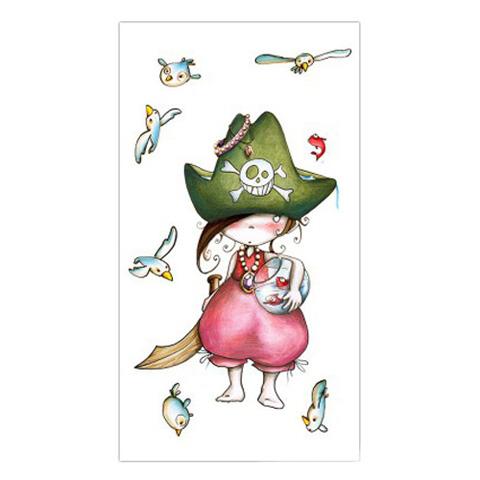 Complementi e decori - Tremate...sono una piratessa! cm. 60 x 110 [PGB2] by Acte Deco