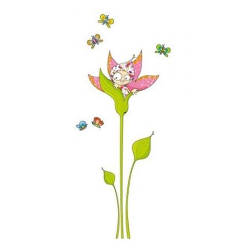 Complementi e decori - Violetta in fiore cm. 212 x 98 [GOLO56] by Acte Deco