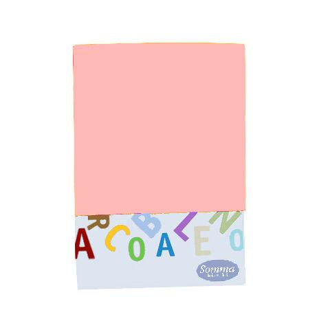 Materassi e linea bianca - Federa tinta unita per carrozzina e culla - Arcobaleno rosa [168] by Somma