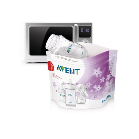 Sanitaria - Sacchetti per sterilizzazione a vapore nel microonde SCF297/05 by Avent