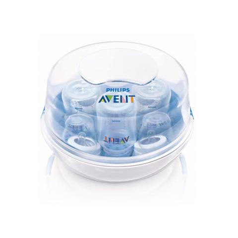 Biberon e succhiotti - Sterilizzatore a vapore per microonde SCF281/02 - SCF271/20  by Avent