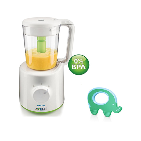 Avent Set Pappa Combi - Frullatore con massaggiagengive