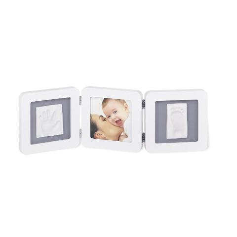 Abbigliamento e idee regalo - Kit Impronta Mano e Piede bianco/grigio 34120052 by Baby Art