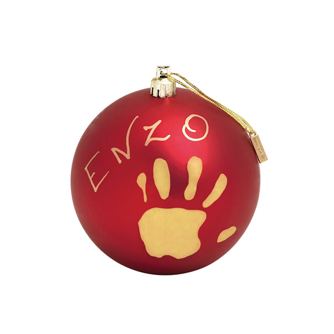 Abbigliamento e idee regalo - Christmas Ball Mat Red [34120153] by Baby Art