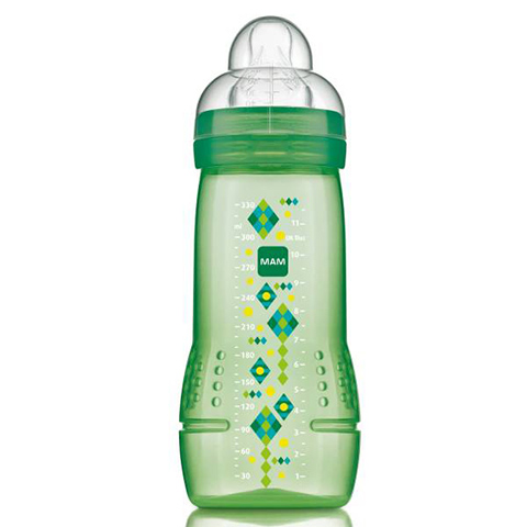 Biberon e succhiotti - Baby bottle 330 ml - tett.mis.3 - neutro [21330-1694] by Mam