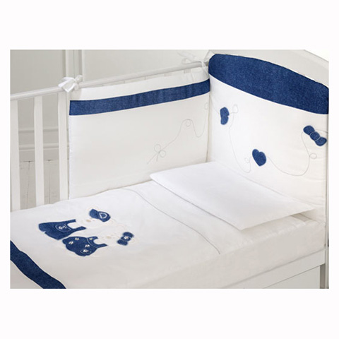 Coordinati tessili - Coordinato tessile Rubacuori Lux Bianco by Baby Expert