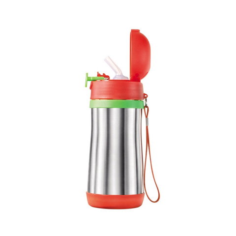 Accessori per la mamma - Borraccia termica - linea Baby Food Rosso - 350 ml. by Quarantasettimane