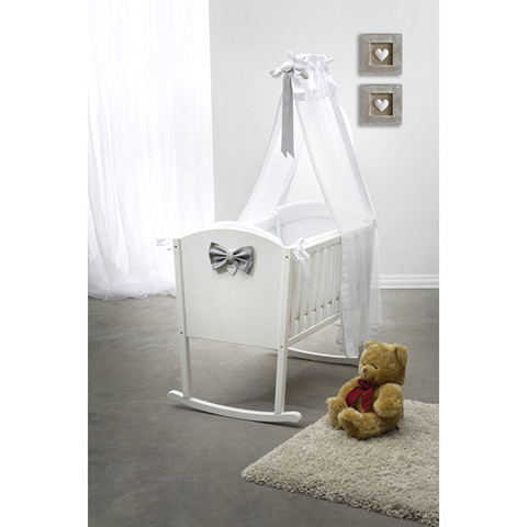 Culle complete - Culla Camille completa Bianco by Baby Italia