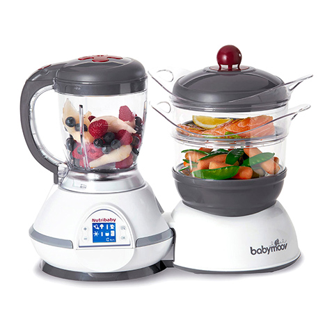 Allattamento e svezzamento - Nutribaby - robot da cucina Cherry [BBMA001114] by BabyMoov