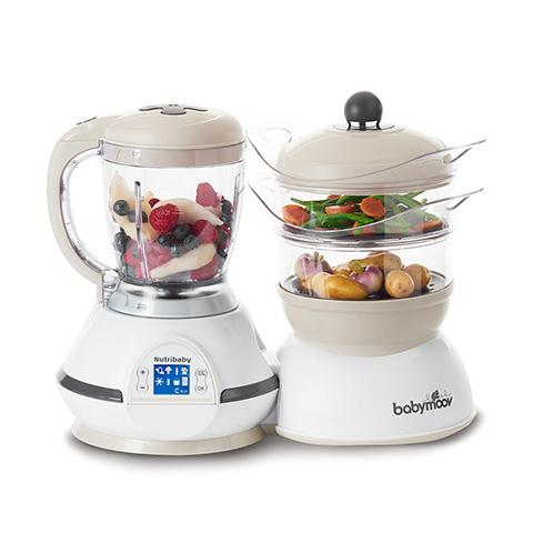 Allattamento e svezzamento - Nutribaby - robot da cucina Cream [BBMA001115] by BabyMoov