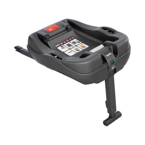 Accessori per il viaggio del bambino - Base auto Isofix per seggiolino Huggy Multifix AV02D6100 by Inglesina
