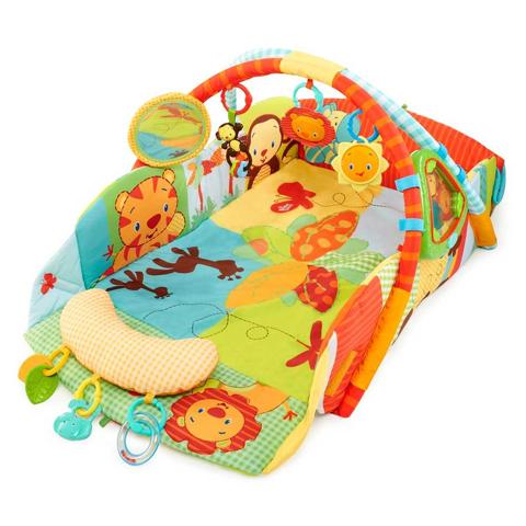 Giocattoli 0+ mesi - Play Place - Palestrina lusso Safari 00283-9011 - BBK9219 by Bright Starts