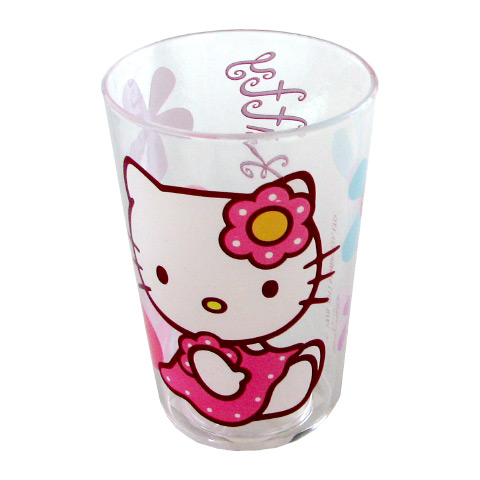Stoviglie decorate - Bicchiere - Hello Kitty - Bamboo 118139 by BBS