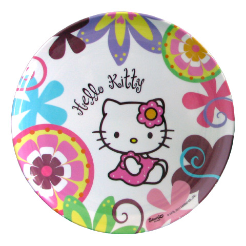 Stoviglie decorate - Piatto piano - Hello Kitty - Bamboo 118140 by BBS