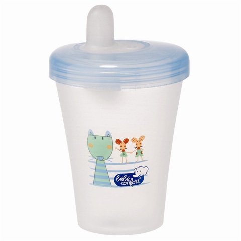Allattamento e svezzamento - Bicchiere salva goccia con beccuccio morbido 31000003 by B�b� Confort