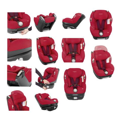 car seat gr 0 1 0 18 kg b b confort opal confetti. Black Bedroom Furniture Sets. Home Design Ideas