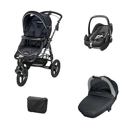 Bébé Confort [TRIO] High Trek Full + Navicella Compact + Pebble Plus
