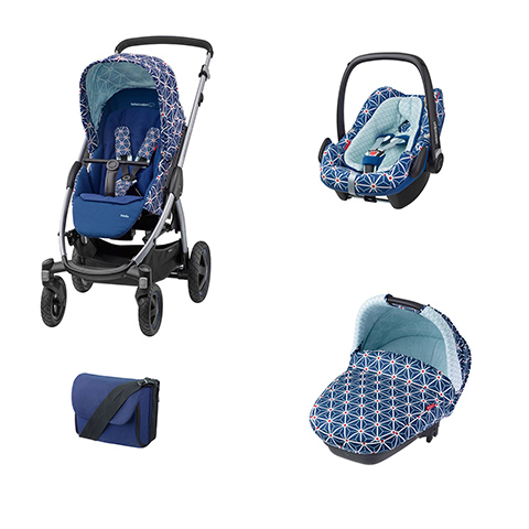 Bébé Confort [TRIO] Stella + Navicella Compact + Pebble Plus + borsa