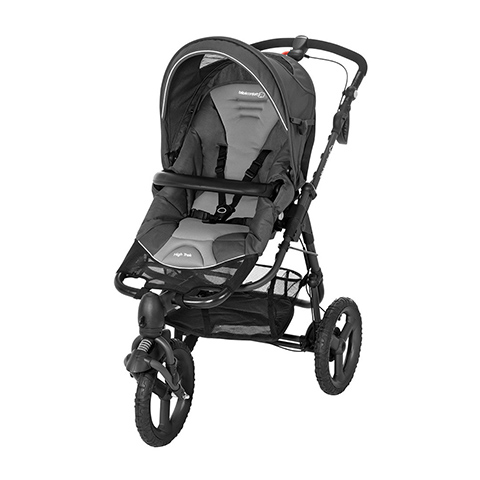 all terrain pushchair high trek full concrete grey b b. Black Bedroom Furniture Sets. Home Design Ideas