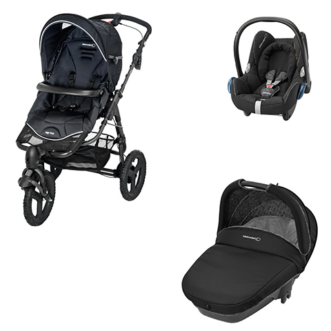 Bébé Confort [TRIO] High Trek Full + Navicella Compact + Cabrio Fix