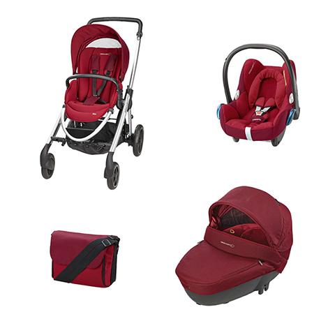 Bébé Confort [TRIO] Elea + Windoo + CabrioFix + borsa