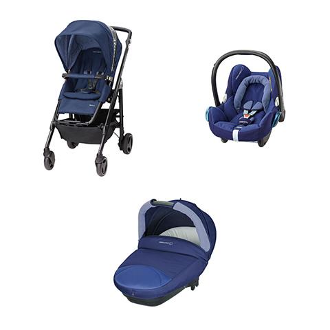 Bébé Confort [TRIO] Loola 3 + Compact Streety + CabrioFix