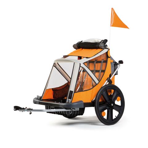 Accessori per il passeggino - B-Taxi  -  rimorchio da bicicletta Orange 2014 [01TRLTS0011] by Bellelli