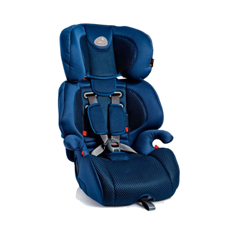 Seggiolini auto Gr.1/2/3 [Kg. 9-36] - Gio Plus Fix FASHION BLUE [01GIP045IFBBY] by Bellelli
