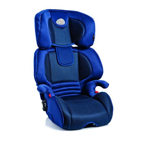 Seggiolini auto Gr.2/3 [Kg. 15-36] - Miki Plus Fix FASHION BLUE [01MIP045IFBBY] by Bellelli