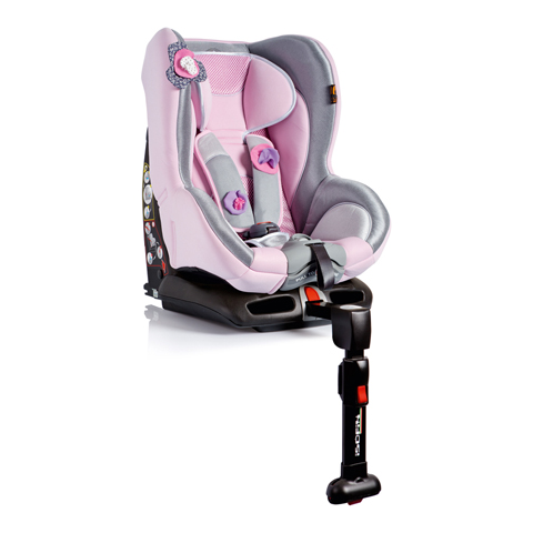 Seggiolini auto Gr.1 [Kg. 9-18] - Tiziano Isofix SHINING PINK [01TZN00043IFBBY] by Bellelli
