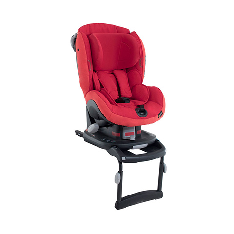 Seggiolini auto Gr.1 [Kg. 9-18] - Izi Comfort X3 isofix Tone in tone Ruby Red [528170] by Besafe