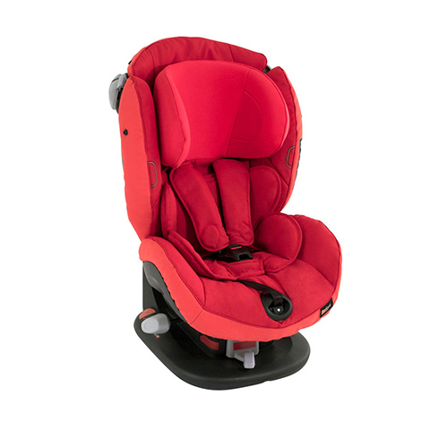 Seggiolini auto Gr.1 [Kg. 9-18] - Izi Comfort X3 Tone in tone Ruby Red [525170] by Besafe