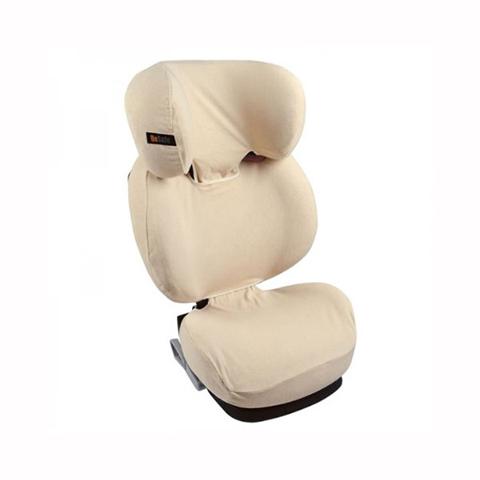 Accessori per il viaggio del bambino - Copri seggiolino auto in spugna per Izi Up X3 Beige by Besafe