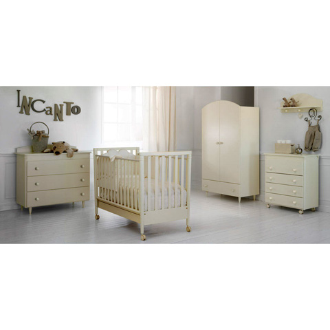 Camerette complete - Collezione Akoya - linea PerLui e PerLei Panna by Baby Expert