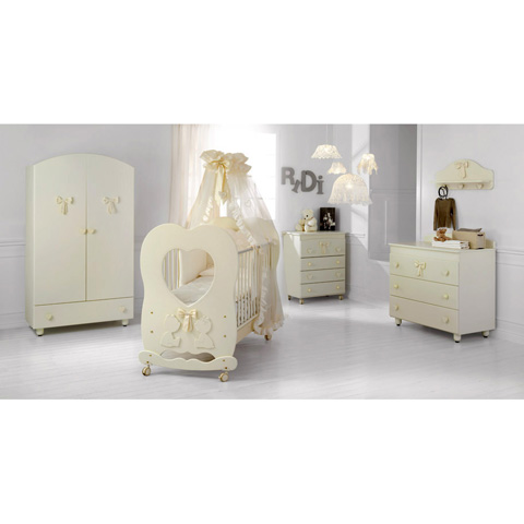 babybett kinderbett aus holz aloha baby expert panna keine matratze ebay. Black Bedroom Furniture Sets. Home Design Ideas