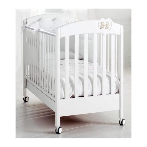 Lettini - Lui e Lei - linea I Preziosi Bianco e argento by Baby Expert