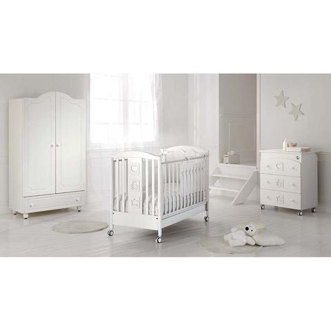 Camerette complete - Collezione Magia - linea Swarovski Bianco by Baby Expert