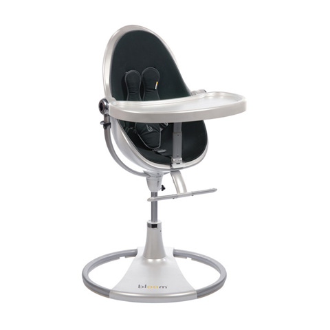Seggioloni - Fresco Chrome White/midnight black by Bloom