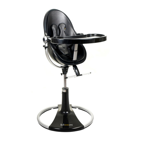 Seggioloni - Fresco Chrome Black/midnight black by Bloom