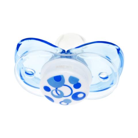 Biberon e succhiotti - Keep-it-Clean - il ciuccio sempre pulito Blue Circle [B6096 - 007B] by Raz Baby
