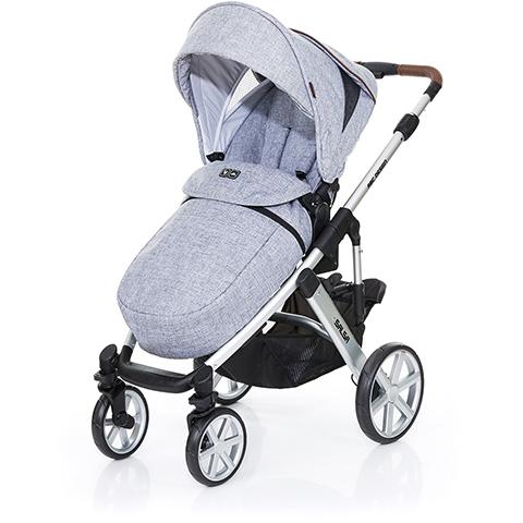 Accessori per il passeggino - Coprigambe Graphite grey by ABC Design
