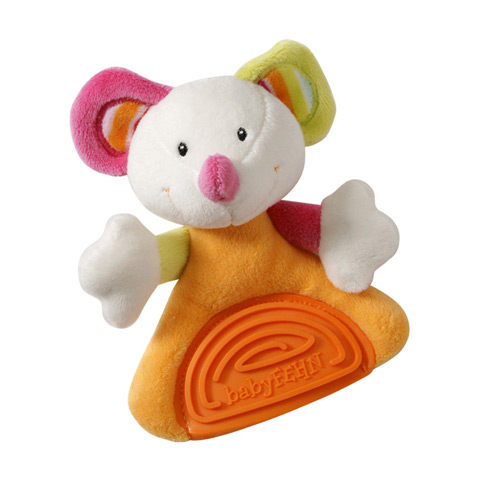 Giocattoli 6+ mesi - Soft Toys Massaggiagengive  151442 topino by Fehn