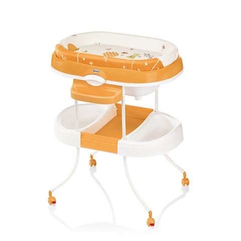 Bagnetti fasciatoio - Bagnetto fasciatoio Acqua Light 011 Zen arancio by Brevi